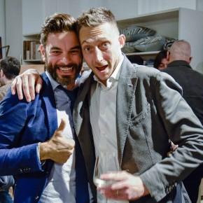 Daniele Lo Sasso e Filippo Berto alla presentazione di Fare è innovare