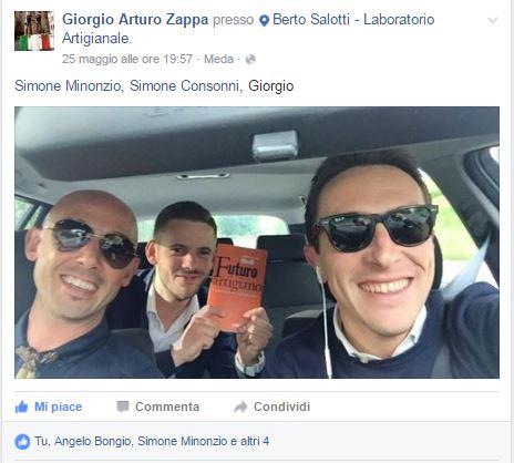 Opificio Zappa alla presentazione di Fare è innovare di Stefano Micelli