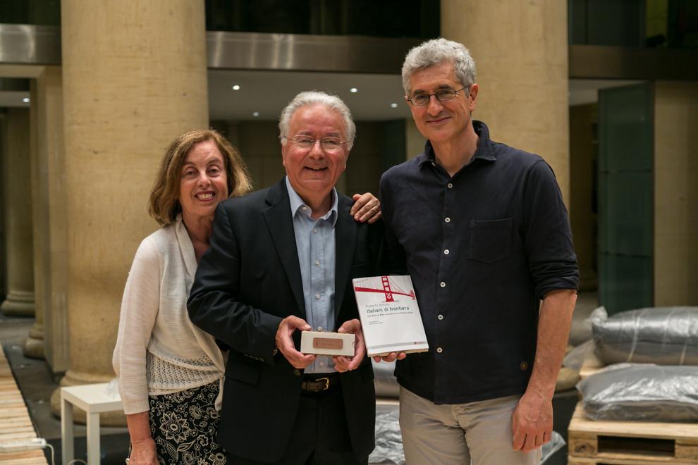 Roberto Bonzio tour Italiani di Frontiera