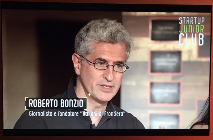 Roberto Bonzio autore del progetto Italiani di Frontiera