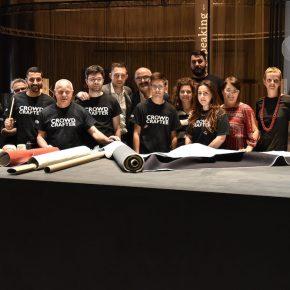 il crowdcrafting di vanessa4newcraft a milano nella sede della mostra new craft