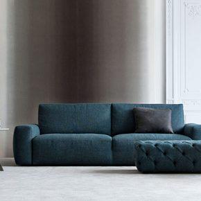 johnny sofa with one-piece frame