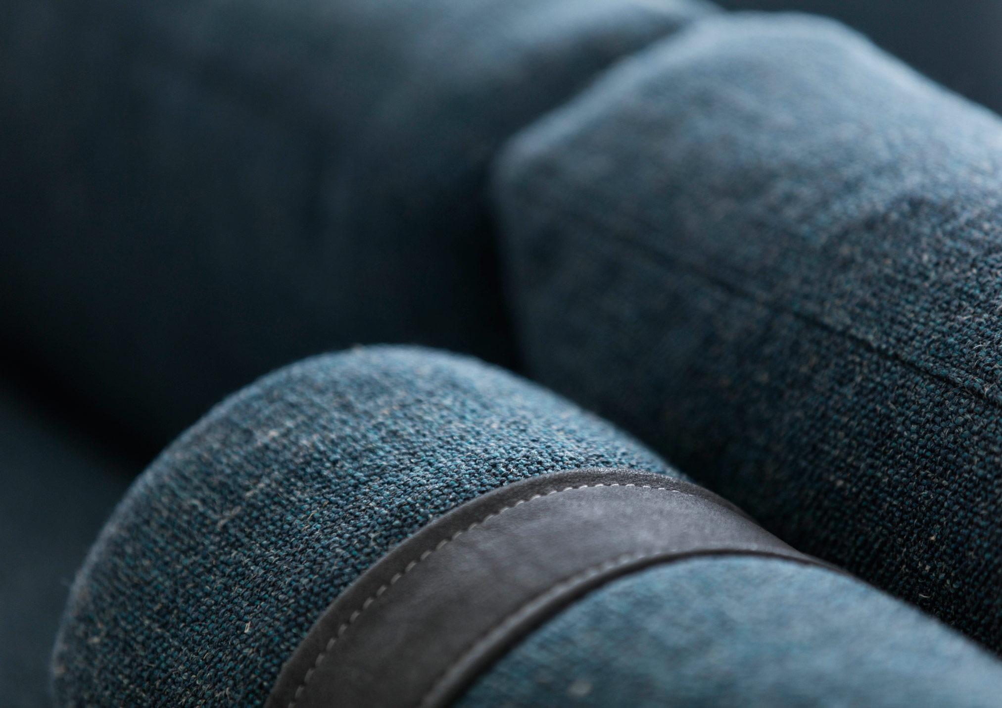 cinghie nabuk per rulli sostegno schienali divano johnny