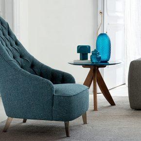 Vanessa Capitonné Armchair berto salotti furniture collection