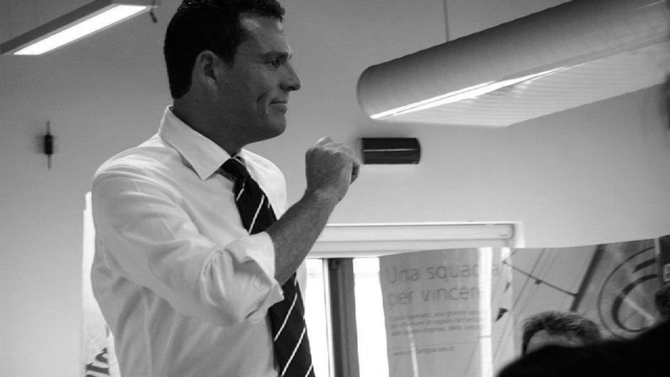 Demetrio Pisani imprenditore ospite all'evento la forza del gruppo bertolive