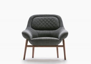 fauteuil Hanna structure bois massif