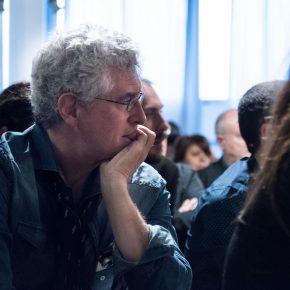 Roberto Bonzio alla presentazione Maker di Stefano Schiavo