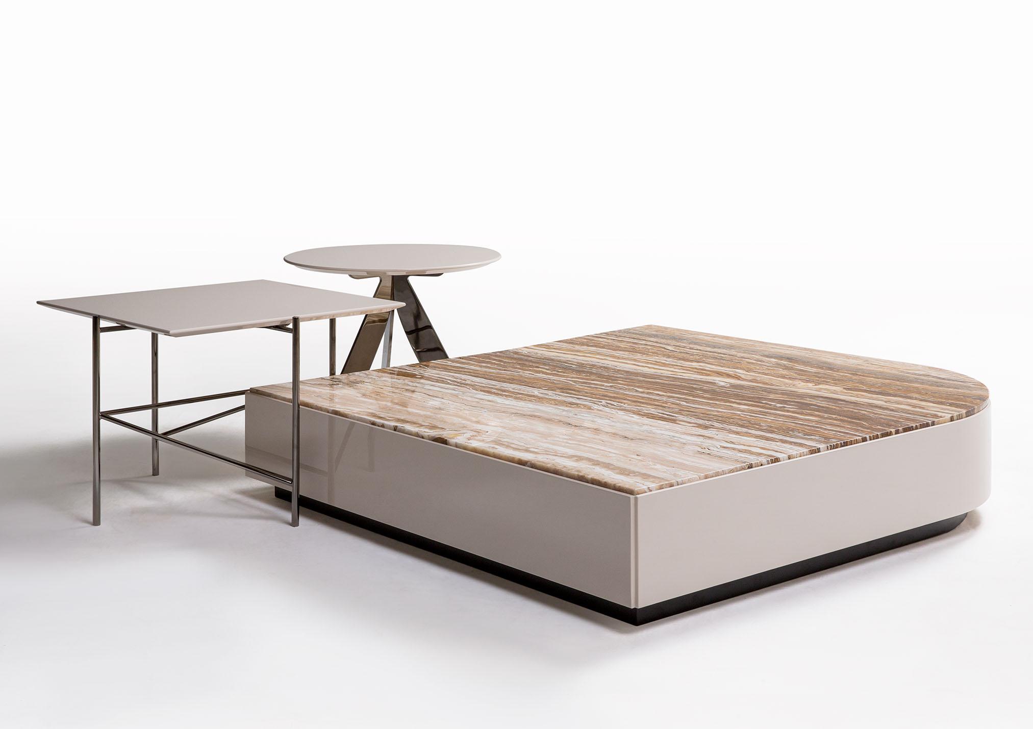 Sistema di tavolini da salotto Stage Riff e Circus