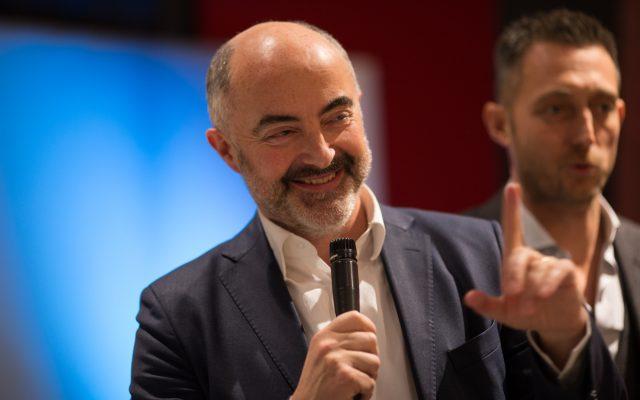 Stefano Micelli Inaugurazione showroom BertO Torino