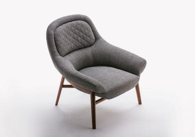 fauteuil Hanna bois massif
