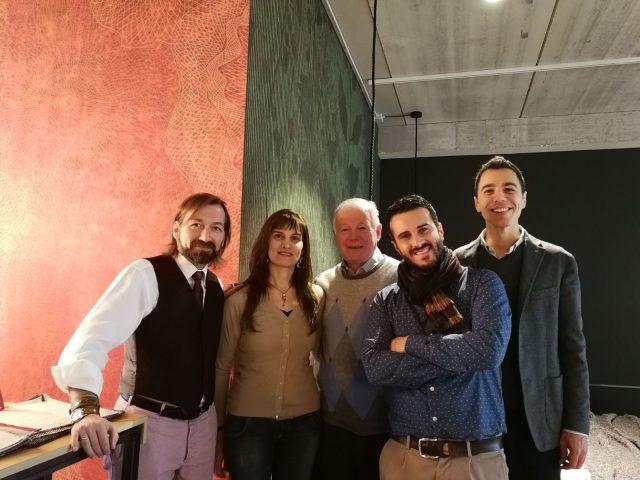 Team BertO Padova e la delegazione Confartigianato Marca Trevigiana