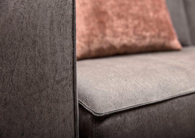 profilo divano letto in pelle nabuk nemo berto salotti