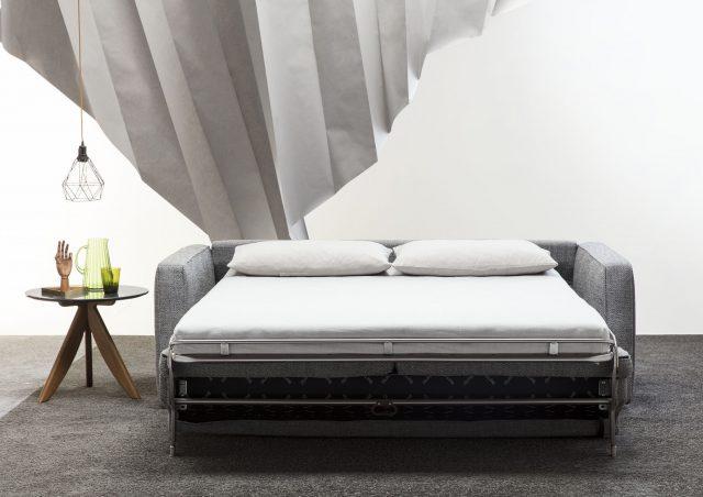 canape lit avec matelas deux places gulliver berto salotti