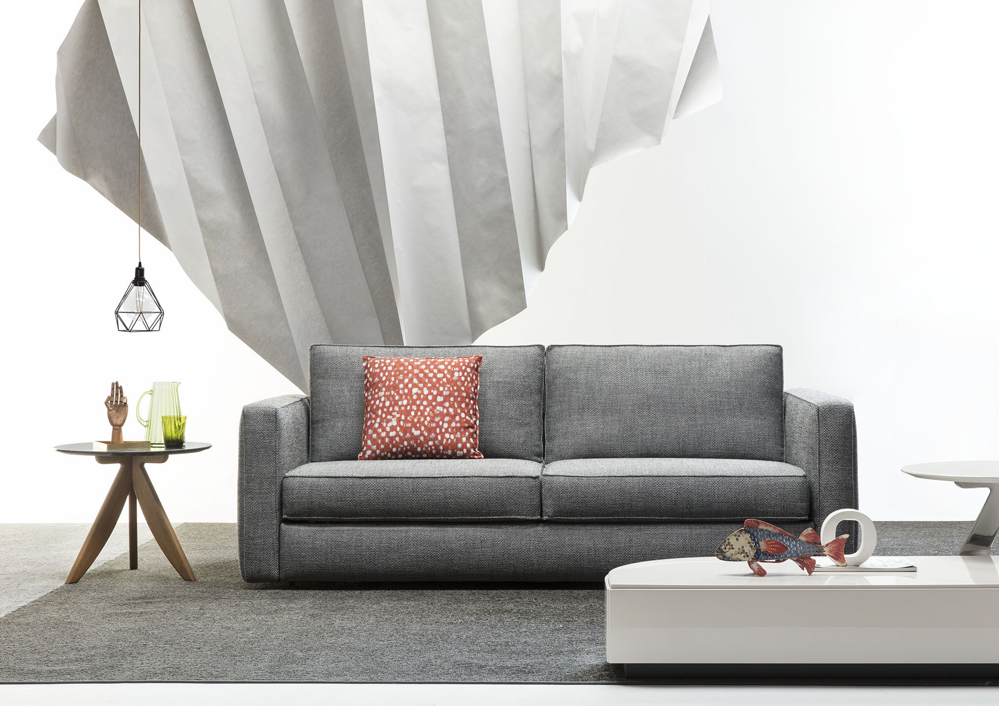 Gulliver sofa bed made by BertO for furnish 7 different homes ...