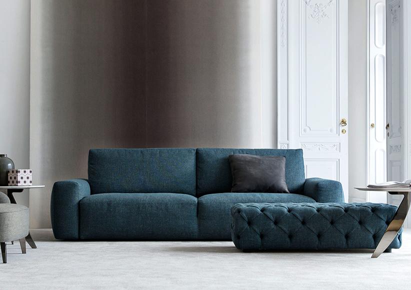 petrol blau sofa johnny aus stoff