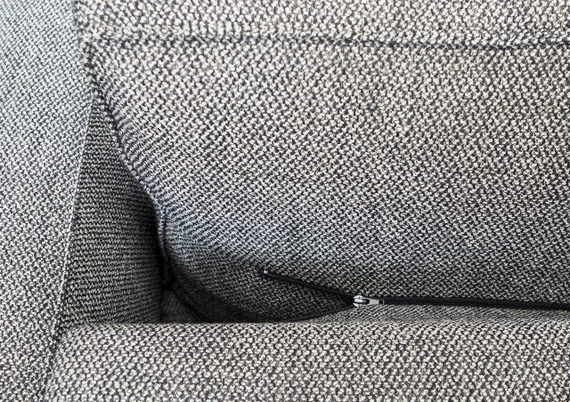 cojín del respaldo con cremallera sofá cama Gulliver