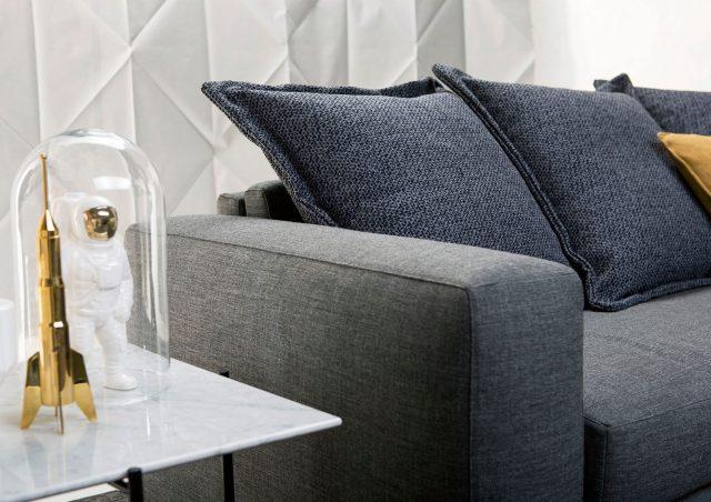 Cuscini di schienale quadrati divano letto passepartout