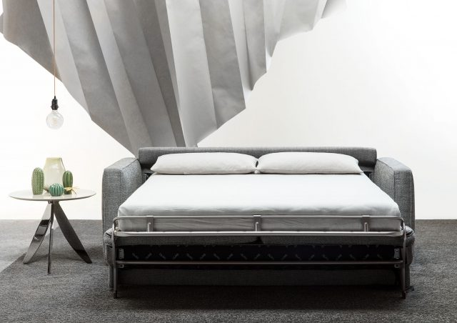 Gulliver sofa bed with mattress h. 18 cm berto salotti