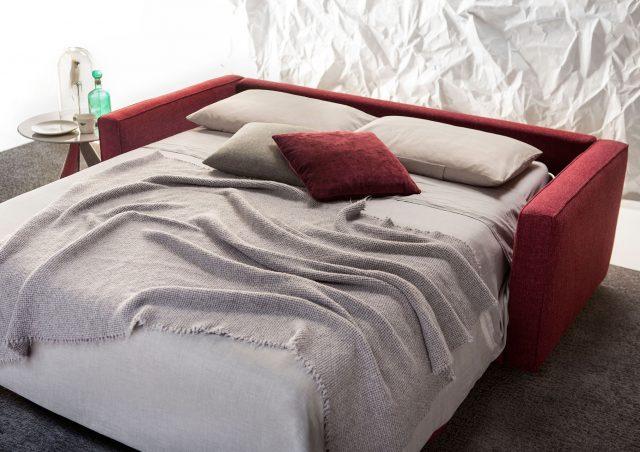 Sofa cama Robinson Colchón de muelles H 14 cm