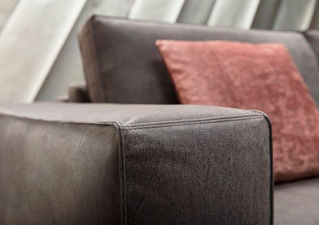 Sofa cama nemo en piel nabuk berto salotti