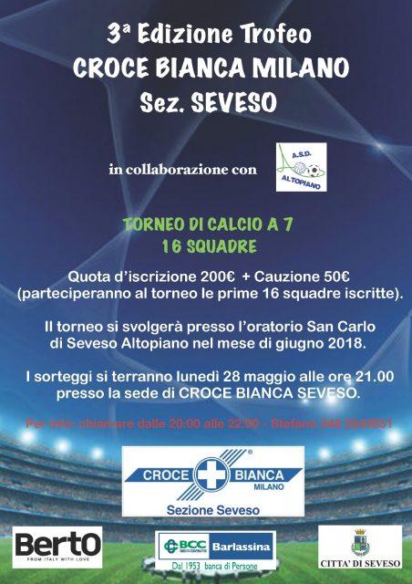BertO sponsor Trofeo Croce Bianca Milano Seveso
