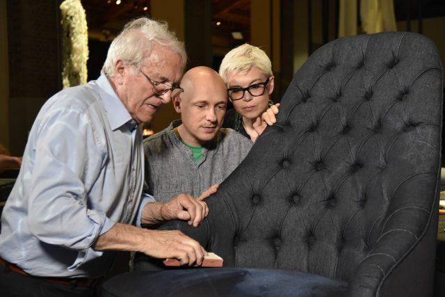 Alessando Castello e Mariantonietta Lagravinese art director BertO