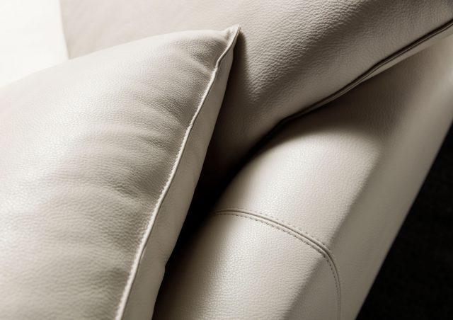 Cuscini in pelle pieno fiore divano time break