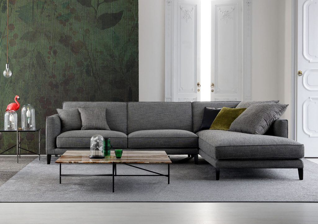 Modular sofa Time Break berto salotti