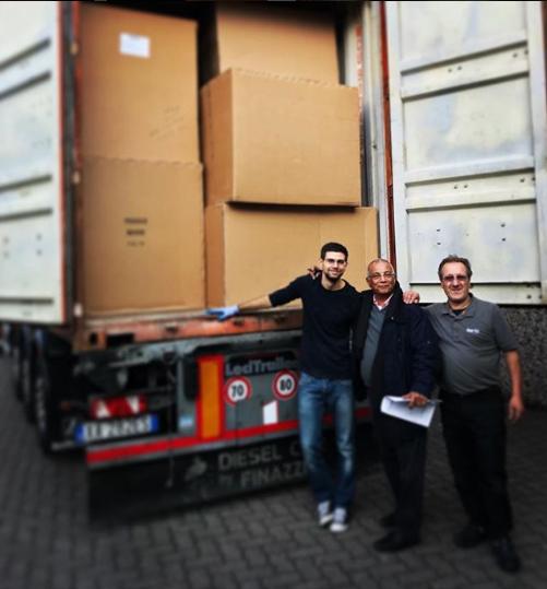 Centro Logistico Berto Salotti Italia