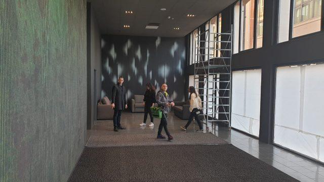 Allestimento showroom BertO Brescia