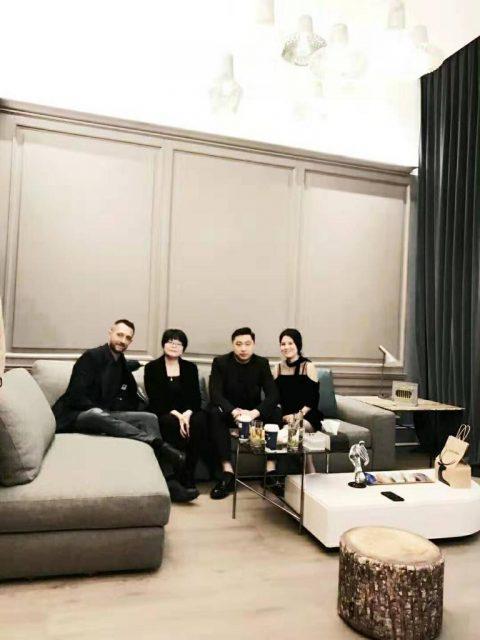 Visita di Filippo BertO a Shanghai