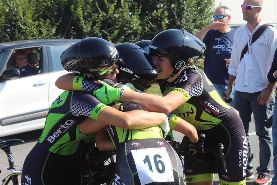 squadra del Gruppo Sportivo Cicli Fiorin Seveso Ciriè