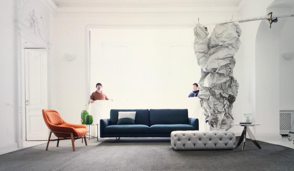 servizio fotografico divano dee dee berto