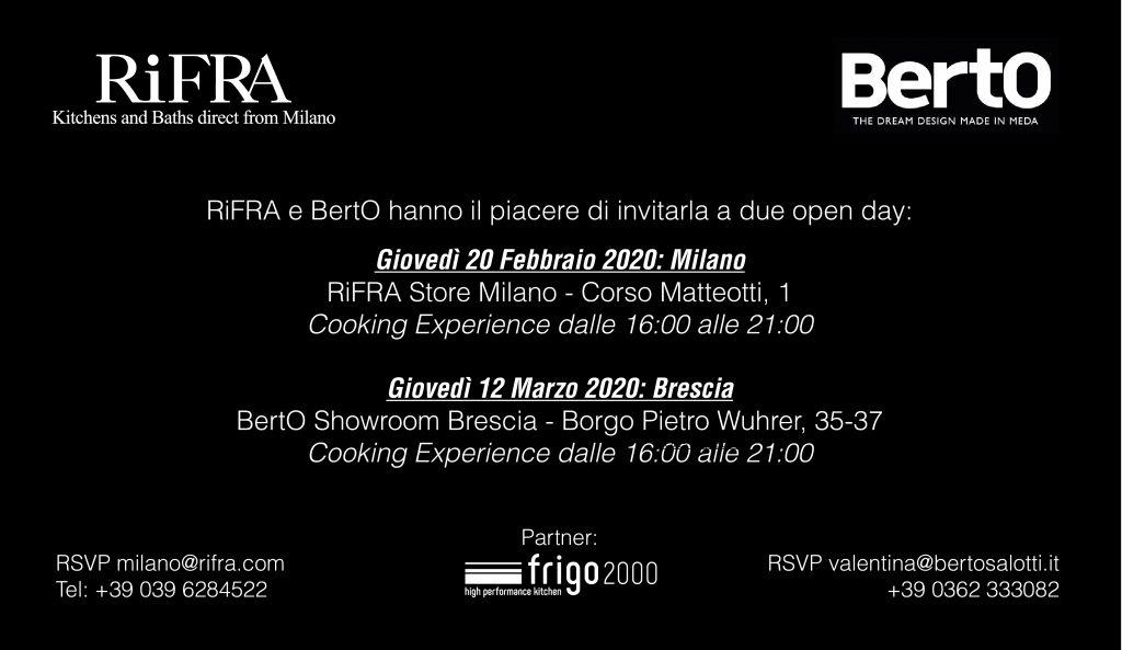 Evento BertO & Rifra
