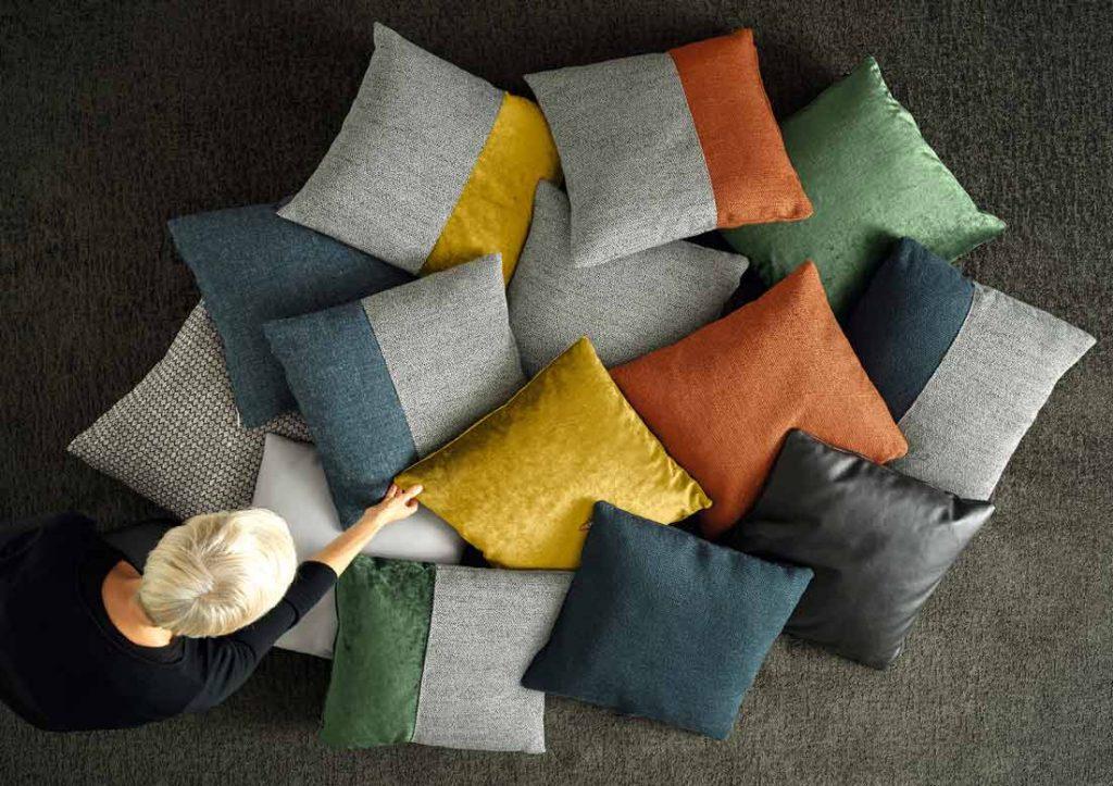 complementi d'arredo berto: collezione cuscinetti di design