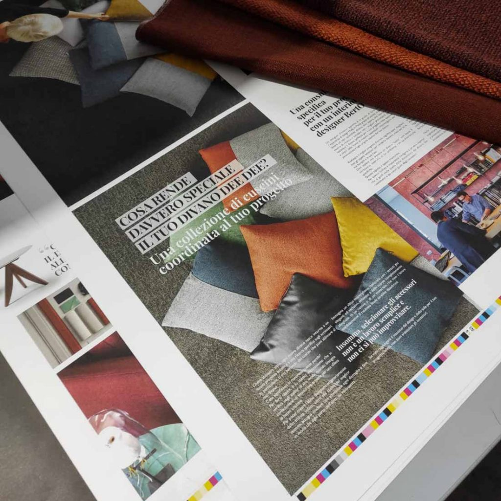 BertoBillboard: le immagini di stampa del nuovo magazine sul design creato da BertO - the dream design made in Meda