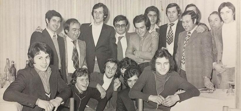 Fioravante e Carlo Berto in Brianza anni '70