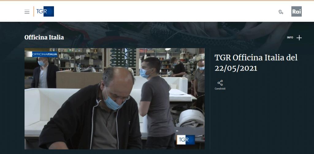 Laboratorio BertO a Officine Italia TGR