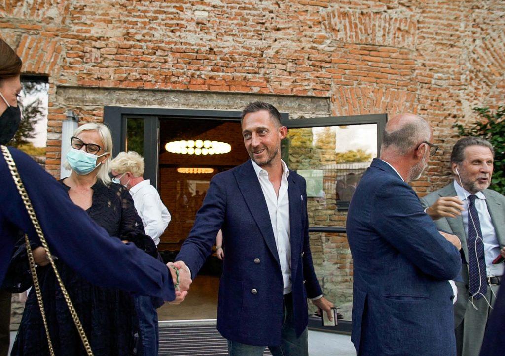 Filippo Berto saluta - Inaugurazione BertO Studio @ LOM