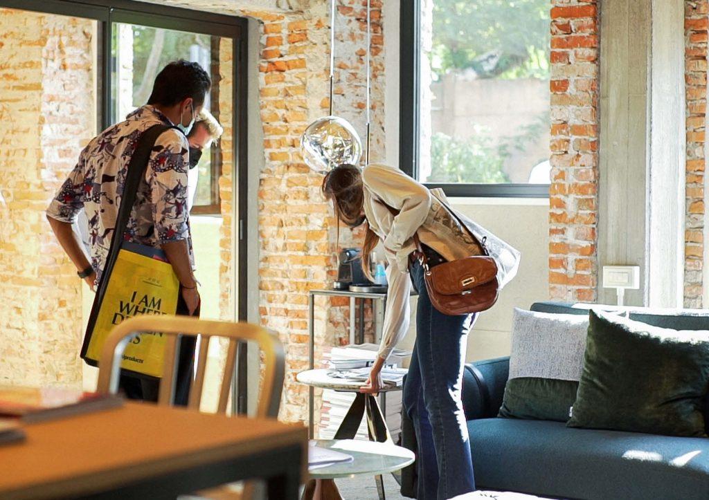 Clienti in visita - Inaugurazione BertO Studio @ LOM