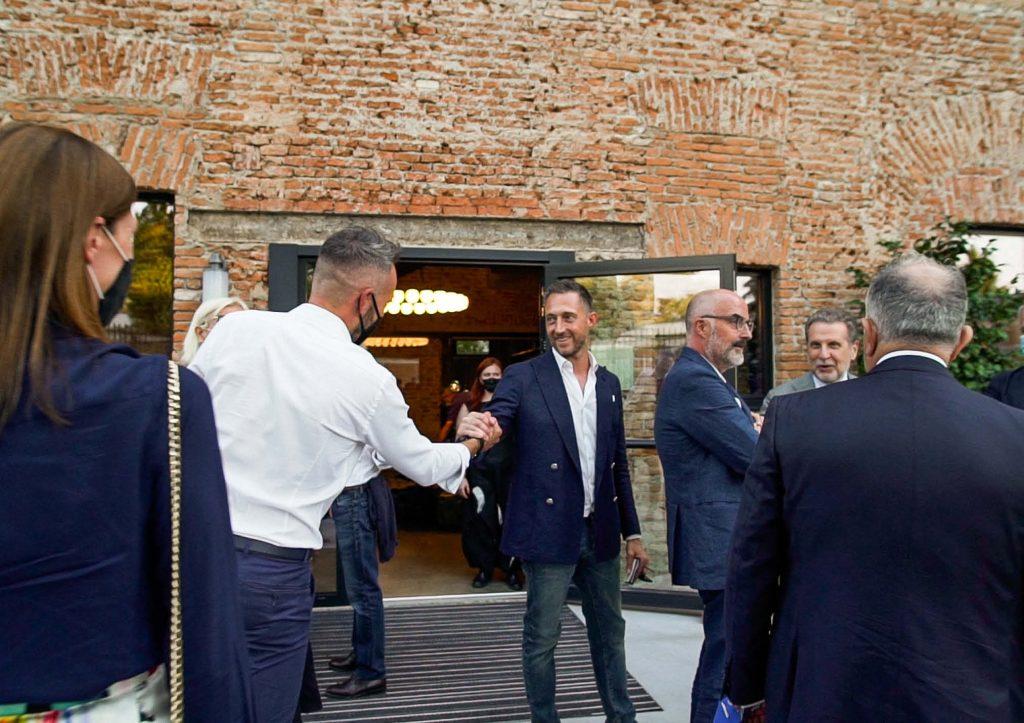 Filippo Berto e Stefano Micelli - Inaugurazione LOM
