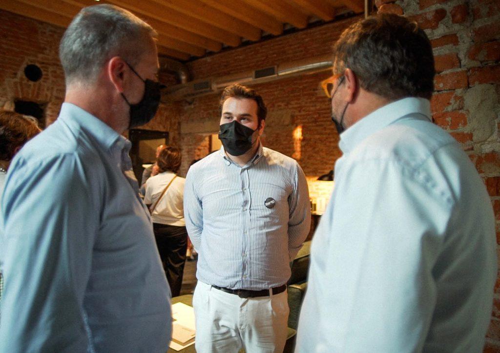 Filippo consigli di interior design - Inaugurazione BertO Studio @ LOM