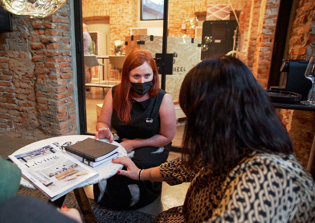 Valentina con Spazio Metodo - Inaugurazione BertO Studio @ LOM